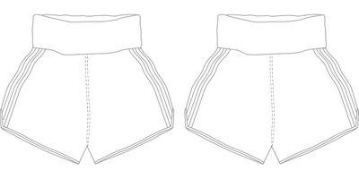 PIN STRIPE MTS | Custom Muay Thai Shorts | Boxxerworld