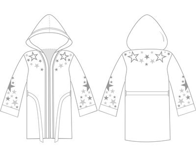 Superstar Robe | Custom Robes | Boxxerworld