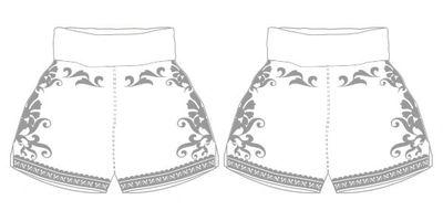 GGG MTS | Custom Muay Thai Shorts | Boxxerworld