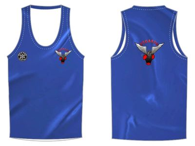 Fight or Flight Blue | Custom Vests | Boxxerworld