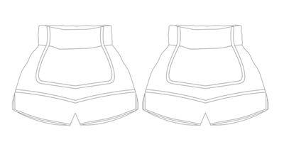 ENFORCER | Custom Muay Thai Shorts | Boxxerworld