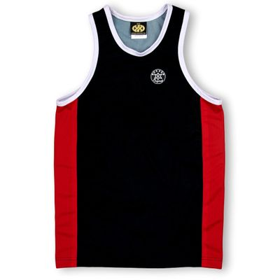 Side Stripe Vest David Vests