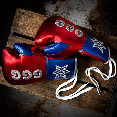 Gloves Laced / Flat GGG Boxing Gloves