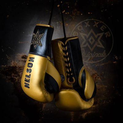 Gloves Laced / Flat Nelson Boxing Gloves