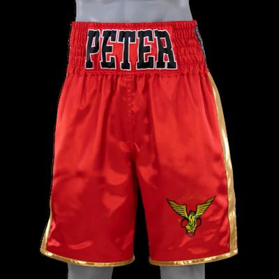 Fight or Flight Red Simon Boxing Shorts & Trunks