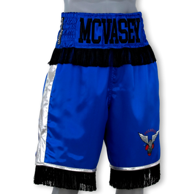 Fight or Flight Blue Tommy Boxing Shorts & Trunks