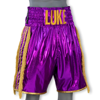 PIN STRIPE BX Mark Boxing Shorts & Trunks
