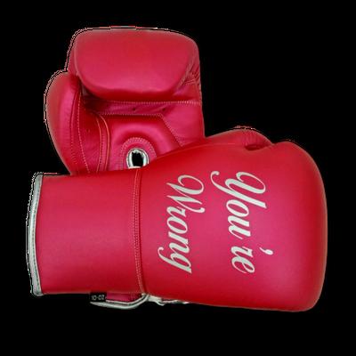 Gloves Laced / Flat Amanda Boxing Gloves