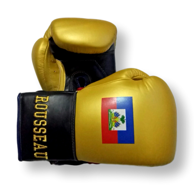 Gloves Laced / Flat Jeffrey Boxing Gloves