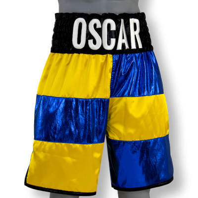 Two Flags BX Oscar Custom Boxing Shorts & Trunks