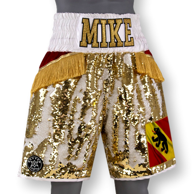 Groove BX Leander Custom Boxing Shorts & Trunks