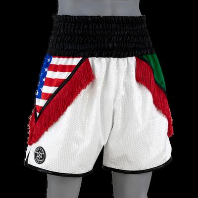 Mexican USA BX Alan Custom Boxing Shorts & Trunks