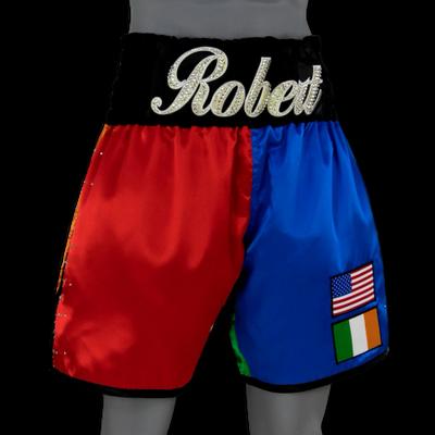 GREATEST (4 COLOUR) Robert Custom Boxing Shorts & Trunks
