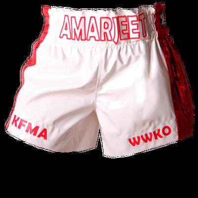 Side Stripe MTS (Amarjeet) Muay Thai Shorts