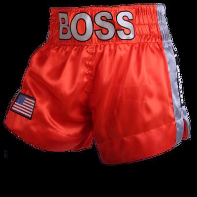 Side Stripe MTS (Boss) Muay Thai Shorts