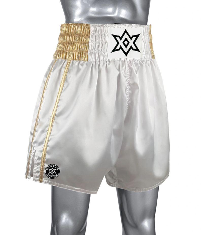 Boxxerworld McGregor Retro White/ Gold