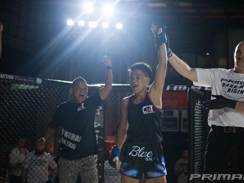 """Boxxerworld Parn """"Fahsikram"""" Chokchai (Thailand) VS Uyen Ha (Australia) at Primal FC MMA"""