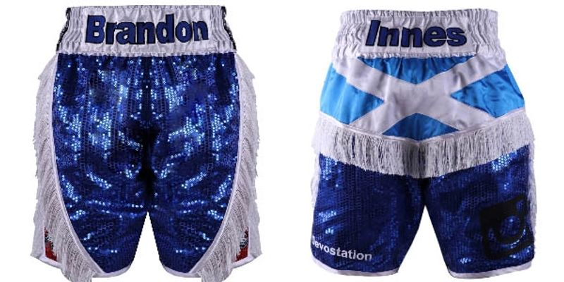 Scotland Stripes | Custom Fightwear | Boxing Shorts & Trunks ...