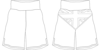 Great Britain BX | Custom Boxing Shorts & Trunks | Boxxerworld