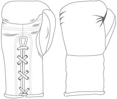 Gloves Laced / Flat | Custom Boxing Gloves | Boxxerworld