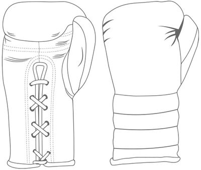 Gloves Laced / Ridged | Custom Boxing Gloves | Boxxerworld