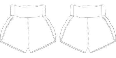 Side Stripe MTS | Custom Muay Thai Shorts | Boxxerworld
