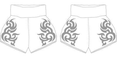THAI KANOK1 MTS | Custom Muay Thai Shorts | Boxxerworld
