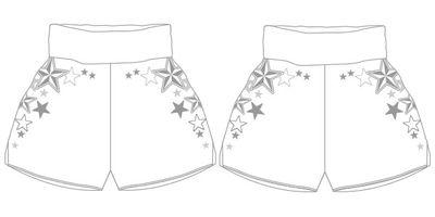 Rising Star MTS | Custom Muay Thai Shorts | Boxxerworld