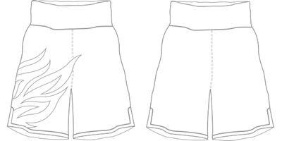 Roy Jones BX | Custom Boxing Shorts & Trunks | Boxxerworld