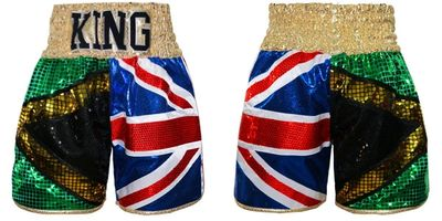 JAMAICA UK | Custom Boxing Shorts & Trunks | Boxxerworld