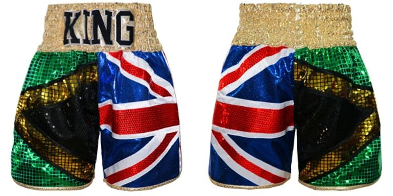 JAMAICA UK | Custom Fightwear | Boxing Shorts & Trunks | Boxxerworld