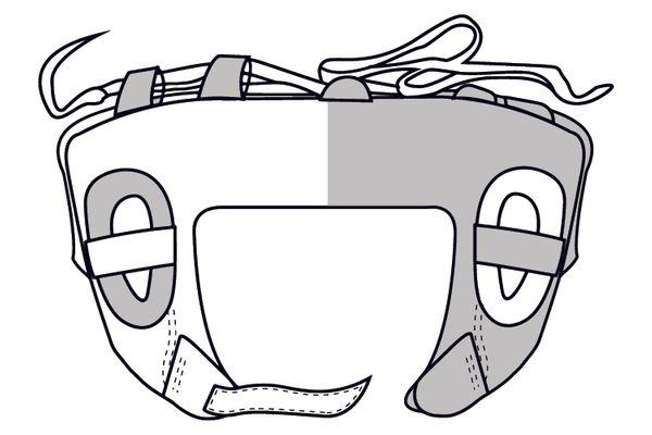 Boxxerworld Open face Head guard (Haringey)