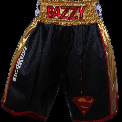 Side Stripe BX Bazzy  Custom Boxing Shorts & Trunks