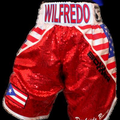 Yankee BX (Wilfredo) Custom Boxing Shorts & Trunks